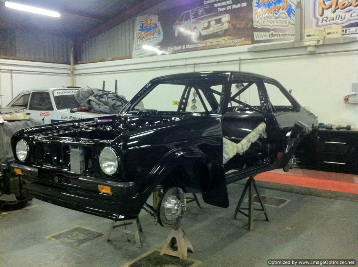 About - Den Motorsport - historic rally car and mk2 escort specialists